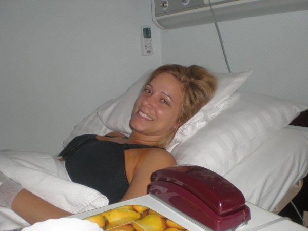 Sikeres műtét után